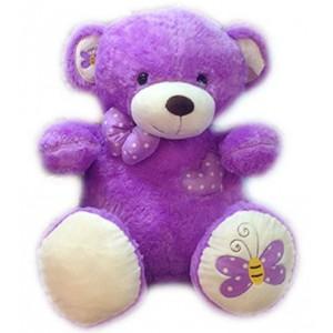 "24"" PURPLE TEDDY BEAR"