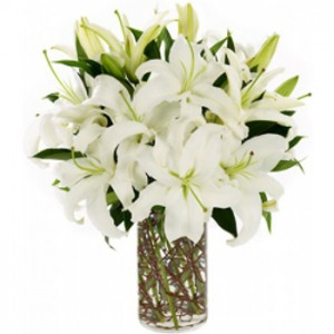 6-white-lillies-in-a-vase