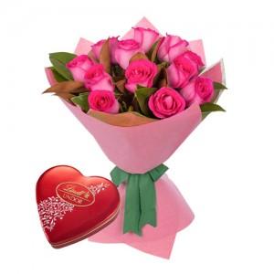 pink ecuadorian roses bouquet