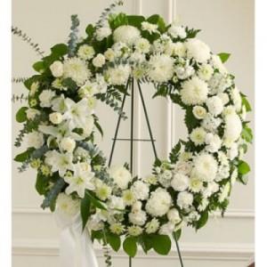 loving memories wreath