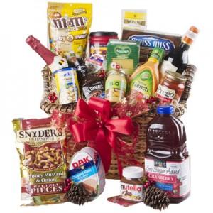 royal festive holiday gift basket