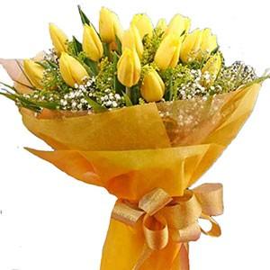 Yellow Tulips Bouquet