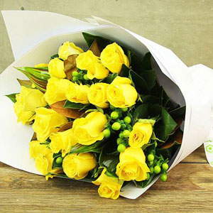 Yellow Roses Bouquet
